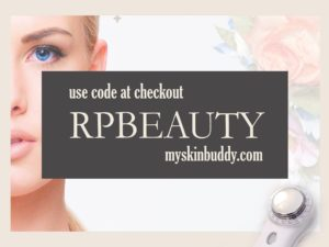 Get free shipping on the My Skin Buddy with checkout code RPBEAUTY!