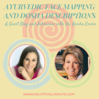 Ayurvedic Face Mapping and Dosha Descriptions