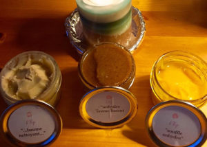 Student skincare creations