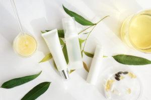 plant-based skincare ritual