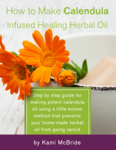 eBook - How to Make Calendula InFused Healing Herbal Oil