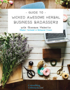 Guide to Wicked Awsome Herbal Business Badassery