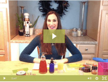 Rachael Pontillo with DIY Hand Care Products