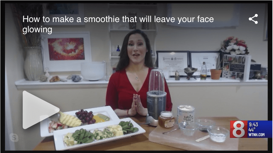 How to turn your green smoothie into a DIY face mask on Good Morning CT at Nine.