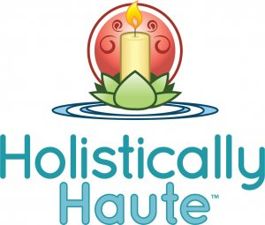 The first Holistically Haute logo--before I even knew I wanted to start a skincare business!