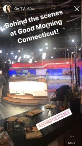 Behind the scenes at WTNH's Good Morning CT at Nine