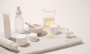 blank skincare products