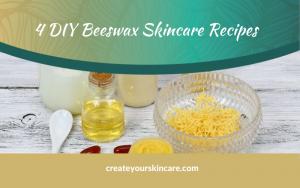 DIY beeswax skincare recipes